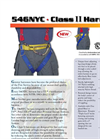 Gemtor - Model 546NYC - Fire Service Harness Brochure