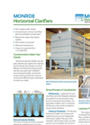 Monroe - Parallel Plate Horizontal Clarifier Brochure