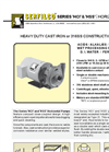 P-108 Series `HCI` and `HSS` Metal Horizontal Pumps Brochure