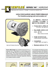 P-206 Series `HH` Horizontal Pumps Brochure