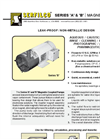 P-503 Series `A` & `B` Magnetic Coupled Pumps Brochure