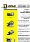 P-631 Series `I` Self-Priming Centrifugal Pumps Brochure