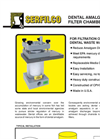 C-150 Dental Amalgam Filter Chambers Brochure