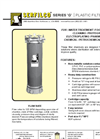 C-107 Series `G` Plastic Filter Chambers Brochure