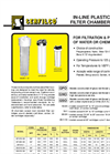 C-101 Series `GPO`,`GNO`,`GSO` Molded Plastic Filter Chambers Brochure