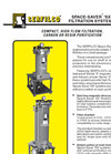 F-213 Space-Saver `SX` Filtration Systems  Brochure