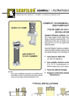 F-501 Admiral Filtration Systems Brochure