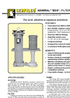 F-510 Admiral `EOS` Filtration Systems Brochure