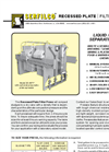 F-705 Recessed Plate Filter Press Brochure