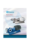 Greerco Pipeline Mixers Continuous Flow In-Line High Shear Mixer Brochure