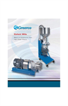 Greerco Colloid Mill Brochure