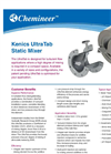 Kenics UltraTab Static Mixer Brochure