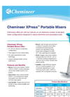 Chemineer XPress Mixers Brochure