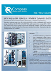 AQUA-SEP - Model SERIES III - Reverse Osmosis Systems Brochure