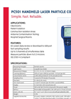 Model PC501 - Handheld Laser Particle Counter - Brochure