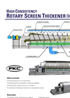 High Consistency Rotary Screen Thickener (HC-RST) - Flyer