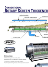 Conventional Rotary Screen Thickener (RST) - Flyer