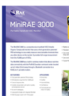 MiniRAE - Model 3000 - Wireless Handheld VOC Monitor Brochure