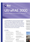 UltraRAE - Model 3000 - Portable Wireless Advanced VOC Monitor Brochure