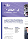 ToxiRAE - Model 3 - Portable Single-Gas Monitor Brochure