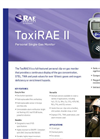 ToxiRAE - Model II - Single-Gas Monitor Brochure