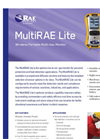 MultiRAE Lite Pumped - Wireless Portable Multi-Gas Monitor Brochure