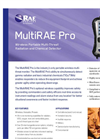 MultiRAE Pro - Wireless Portable Multi-Threat Monitor Brochure