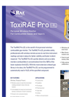 ToxiRAE Pro LEL - Wireless Portable Combustible Gas And Vapor Monitor- Brochure