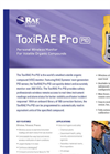 ToxiRAE Pro PID - Wireless VOC Single Gas Monitor- Brochure