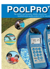 PoolPro - PS6FCE & PS9TK - Handheld Water Quality Analysis Tool Datasheet