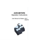 Agri-Meters - Analog Handhelds Measuring EC And pH Operation Manual