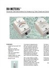 RO Meters - Reverse Osmosis Meters for Measuring Total Dissolved Solids Datasheet