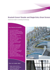 Brackett Green - Double And Single Entry Drum Screen Brochure
