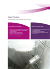 Copa- Cyclone Non-Powered, Self Cleaning Storm Screen - Brochure