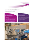 Jones+Attwood Bache Classifier - Grit Washer Handles Mixed Solids Brochure