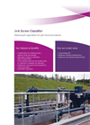 Jones-Attwood Screw Classifier For Mineral Grit Separation in Grit Removal Systems Brochure
