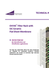 Ovivo - Model FSM-SiC - High Flux Submersible Ceramic Flat Sheet Membrane Filtration - Brochure