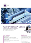 Ovivo Bongo Series - Single / Double Aperture Fine Screens - Brochure
