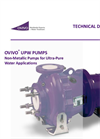 Ovivo - Non-Metallic Pumps for Ultra-Pure Water Applications - Brochure