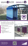 Ovivo stormBLOX - Physical-chemical (P/C) Treatment Process - Brochure