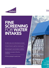 Ovivo Brackett Green - Dual Flow Traveling Band Screens - Brochure