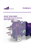 Ovivo - UPW Pumps - Technical Datasheet