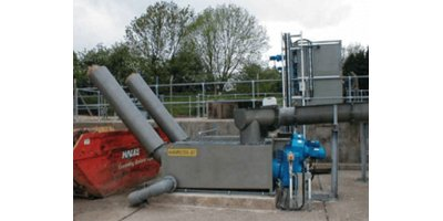 Jones+Attwood - Model Washpactor-Jet - Improved Raw Sewage Screening and Compaction System