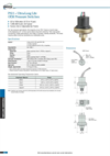 Gems - PS11 Series - Low Pressure Switch Catelogue