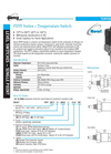Gems - PDTF Series - Temperature Sensors Catalogue