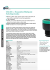 Gems - UCL-510 - Ultrasonic Continuous Level Sensor Brochure