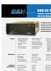 Model 600 SC FTIR - Fourier Transform Infrared Analyzer Brochure