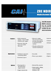 Model ZRE NDIR/O2 - NDIR/Oxygen Analyzer Brochure
