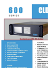 CAI - 600 CLD - Chemiluminescent NO/NOx Analyzer - Brochure