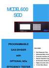 Model 600 SGD - Gas Divider Specification Sheets (PDF 56 KB)